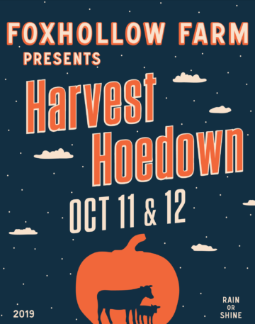 Harvest Hoedown October 11 & 12